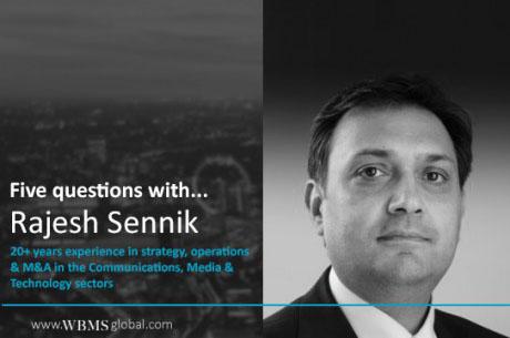 5 questions with… Rajesh Sennik