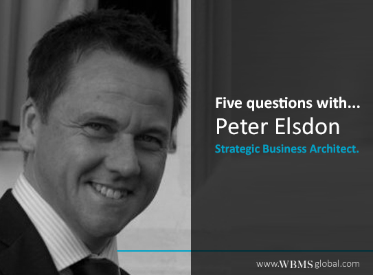 5 Questions with Peter Elsdon
