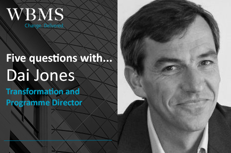5 questions with…Dai Jones